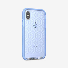 Apple Iphone 10 X XS Tech21 Evo Gem case Soft Gel  back cover T21 5938 Blue