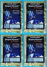 4  Packages of liquor quick Super Yeast X-Press turbo 20%