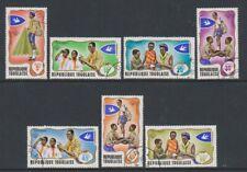 Togo - 1976, Togolese Scouts / Scouting set - F/U - SG 613/19 (g)