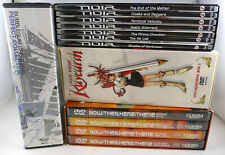 Anime DVDs: Bubblegum Crisis, Noir, Magic Rayearth, Now & Then Here & There