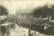 More details for devonport funeral cortege of victims of submarine a, passing stoke church 1905