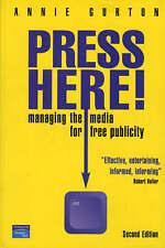 (Good)-Press Here (Paperback)-Annie Gurton-0273653849