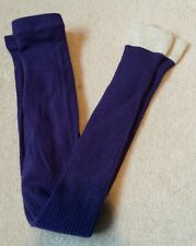 Mini Boden girls footless tights With Sparkly Cuff Age 5-6 years. Brand New.