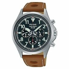 Pulsar Men's Stainless Steel Case Analogue Watches