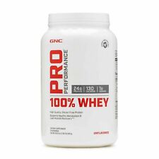 GNC PRO PERFORMANCE 100% WHEY UNFLAVORED 1.85 LB (EXP 01/2022)
