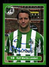 Rolf Martin Landerl Autogrammkarte VFB Lübeck 2010-11 Original Signiert+A 132086