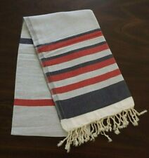 "Turkish Cotton Bath Towels Striped Bath Beach Sauna Luxury Peshtemal 37"" x 70"""