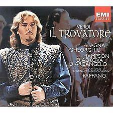 "VERDI ""IL TROVATORE"" (Roberto Alagna, Angela Gheorghiu, cond. Pappano) EMI 2 CDs"