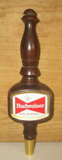 Vintage Old Style Budweiser Beer Wood Tap Handle