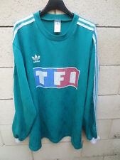 Maillot COUPE de FRANCE porté n°12 vert TF1 football collection shirt vintage XL