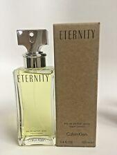 Eternity  Calvin Klein  3.4 Oz EDP  New Tester Box no cap Perfume For Women