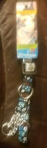 """RC Pet Products Training Collar Medium 9""""-14"""" Pitter Patter Chocolate NWT"""