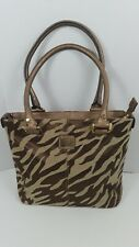 597f9b97586a Anne Klein Animal Print 2 Straps Satchel Handbag Shoulder bag In Good  Condition