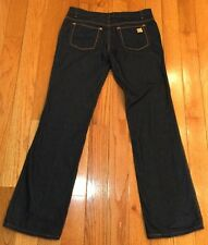 $575 Roberto Cavalli Pants Jeans Size 44 Made In Italy