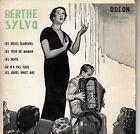 45TRS VINYL 7''/ FRENCH EP BERTHE SYLVA / LES ROSES BLANCHES + 3