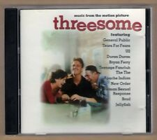 THREESOME cd like new MUSIC FROM THE MOTION PICTURE - VARIOUS ARTIST - 12 TRACKS