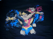 GILDAN 1 UP BOX BATMAN VS. SUPERMAN WONDER WOMAN T-SHIRT MENS X-LARGE