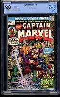 Captain Marvel #42 CBCS NM/M 9.8 White Pages