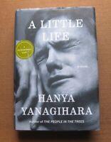 SIGNED - A LITTLE LIFE by Hanya Yanagihara - 1st  2015 HCDJ
