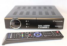 Technomate TM-5402 HD M3 Full HD 1080p DVB-S2 Satellite Receiver LAN USB PVR