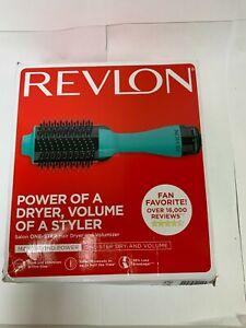 Revlon Salon One-Step Hair Dryer and Volumizer - Teal -  FREE SHIPPING