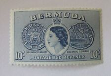 Bermuda SC #161 COLONIAL COINAGE  MNH  stamp