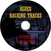 BLUES ULTIMATE GUITAR BACKING TRACKS DVD BEST OF GREATEST HITS COLLECTION MUSIC