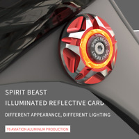 Spirit Beast Motorcycle Light LED Tail Lights Front Rear License Plate Lamp 12V