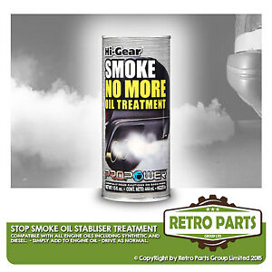 Stop Smoke Oil Treatment for Panoz. Stabilizer Engine Noise Reducer