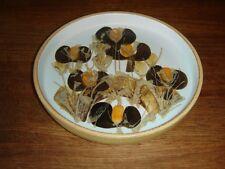 Ellen Malmer round fajance dish Royal Copenhagen # 962-3290 Fact. 1