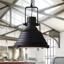 Vintage Ceiling Lights Industrial Black Chandelier Metal Large Pendant Lighting
