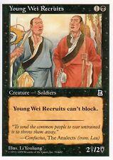 Young Wei Recruits   EX   Portal: Three Kingdoms   Magic MTG
