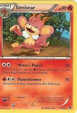 POKEMON B&W EMERGING POWERS - SIMISEAR 19/98 RARE