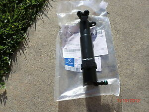 2000-2002 Mercedes-Benz W210 E55 E430 E320 AMG HEADLIGHT SPRAYER NOZZLE NEW LEFT