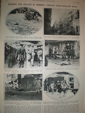 Photo article Hindu Muslim riots Bombay Mumbai India 1932