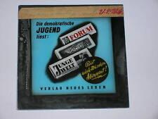 Kino Reklame Verlag Neues Leben Werbedia 50er Jahre