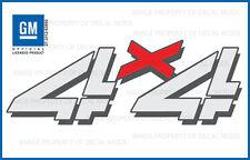 2 - 2003 Chevy Silverado 4x4 decals - F - bed side stickers 2500 chevrolet HD