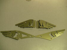BUELL 1125 1125CR  GOLD  HEEL GUARDS 2002-2013   FULL  SET (FRONT AND BACK)