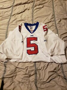 Pre-owned Vintage Reebok NY Giants Jersey Kerry Collins Authentic NFL Size 60