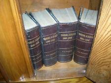 NEW YORK TRIBUNE WHIG ALMANAC 1838 -1890 INCLUSIVE FORWARD BY HORACE GREELEY