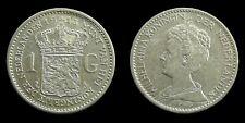 Netherlands - 1 Gulden 1913 Prachtig-