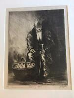 Albert Webb WPA Art 1930's LE Print Joseph Margulies Framed NYC Depression Humor