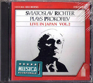 Sviatoslav RICHTER: PROKOFIEV Live in Japan Vol.2  CD Visions fugitives Legende