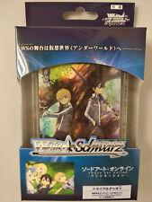 Weiss Schwarz Sword Art Online Alicization Trial Deck+ Bushiroad
