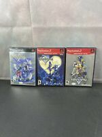 Disney Kingdom Hearts 1 And 2 Greatest Hits Sony Playstation 2, PS2 Complete