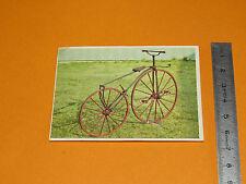 CHROMO CHOCOLAT POULAIN 1976 CONNAISSANCE CYCLE MOTO VELOCIPEDE A PEDALES 1861