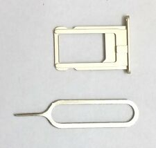 """New """"GOLD"""" Sim Card Tray+Pin Replacement for iPhone 6+ PLUS 5.5"""" ~ US Seller !!"""