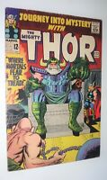 JOURNEY INTO MYSTERY THOR #122 KIRBY CLASSIC ABSORBING MAN FINE- 1965