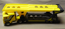Matchbox Convoy CY-1 S 1:90 Kenworth Car Transporter Truck Diecast Yellow