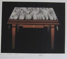 AVATI MARIO GRAVURE 1977 SIGNÉE AU CRAYON NUM ESSAI /11 HANDSIGNED NUMB ETCHING
